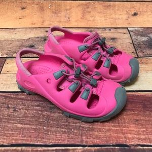 Crocs Youth Trailbreak Multi Sport Shoe Sz 1/3